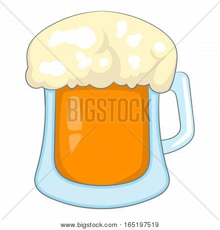 Beer icon. Cartoon illustration of beer vector icon for web