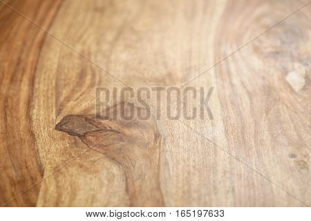 vintage rosewood wooden surface background in perspective view, photo with shallow focus