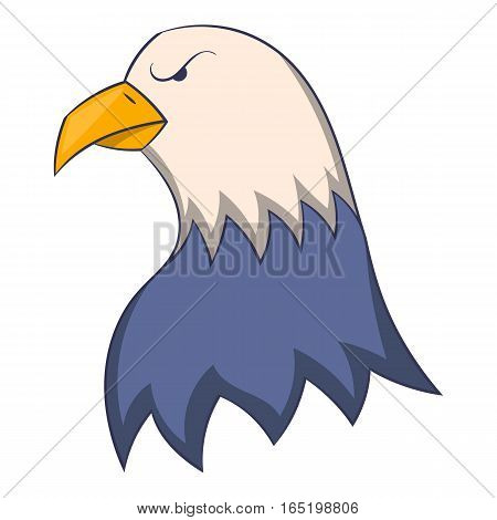 Eagle icon. Cartoon illustration of eagle vector icon for web