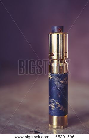 Mech Mod Vaping Smoking Device Polish Process