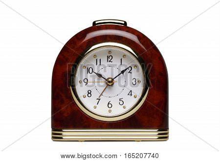 Special Juke-box Alarm Clock Isolated On White