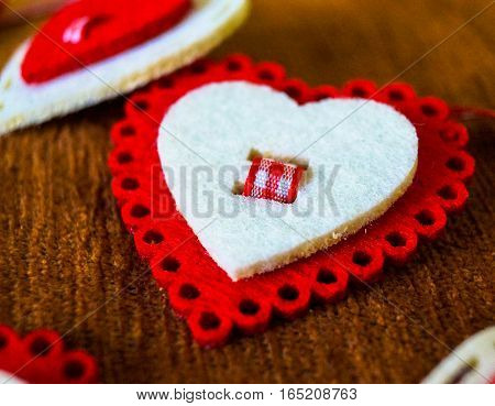 a gift on Valentine's day toy heart shaped