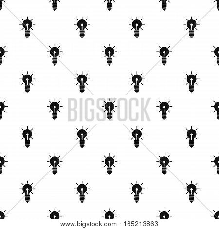 Bulb pattern. Simple illustration of bulb vector pattern for web