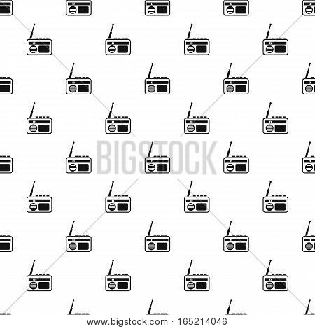 Radio pattern. Simple illustration of radio vector pattern for web