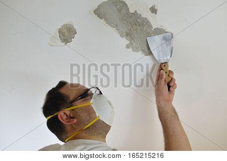 Peeling A Ceiling