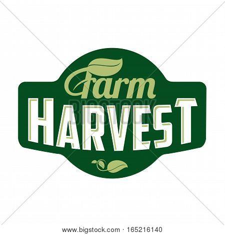 Farm Logo Harvest
