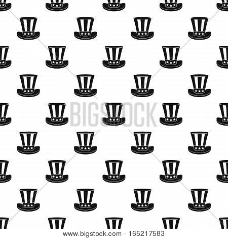Top hat pattern. Simple illustration of top hat vector pattern for web