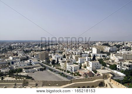 Nice view of Sousse city in Tunisia