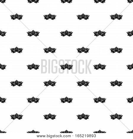 Hop cone pattern. Simple illustration of hop cone vector pattern for web