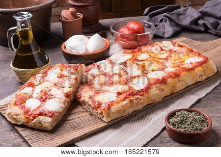 Rectangular Romana's Pizza