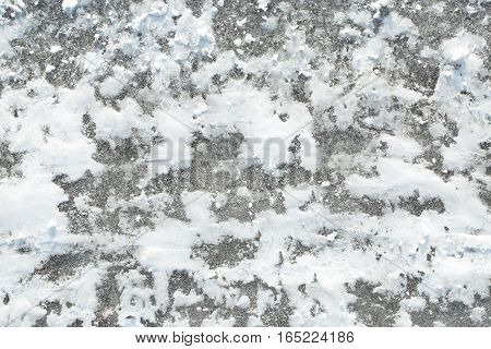 Ice And Snow Texture Background
