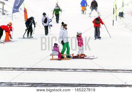 Ski Resort In Switzerland