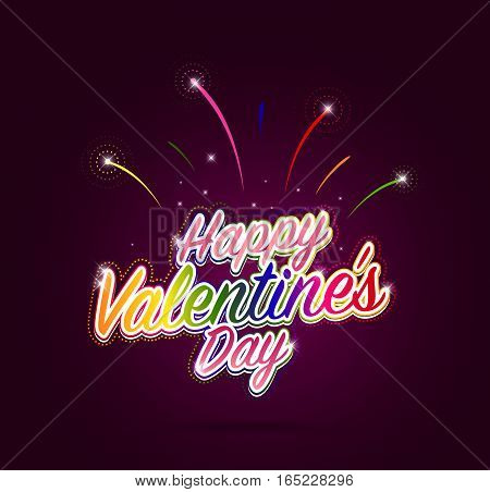 Happy Valentine's Day Design For Metrosexual. Metro-sexual Valentine Words. Vector Illustration.