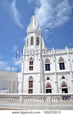 Church at Velakanni on Dec 15, 2016