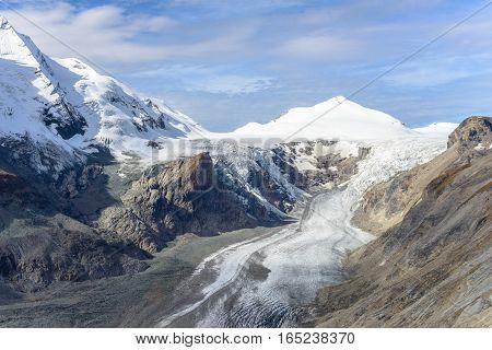 View of Franz Josefs Hohe Glacier, Hohe Tauern National Park, Austria poster