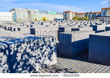 Hdr Holocaust Memorial, Berlin