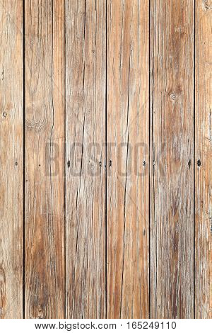 Uncolored Old Wooden Floor, Vertical Background