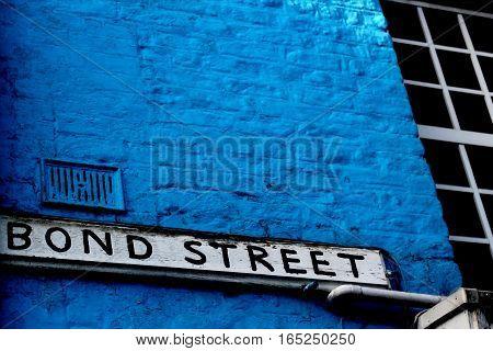 Abstract Creative Bone Street Scene Boston Lincolnshire England