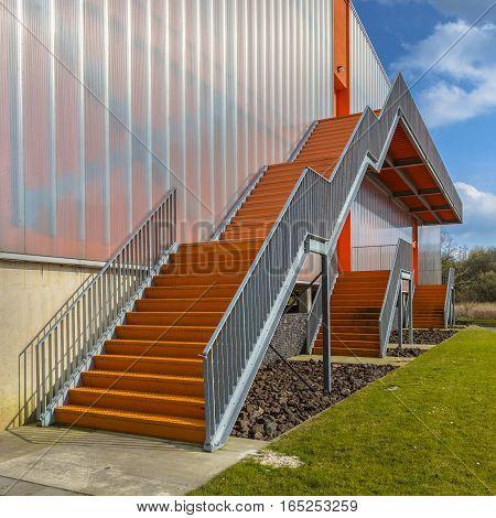 Modern Emergency Exit Ladders