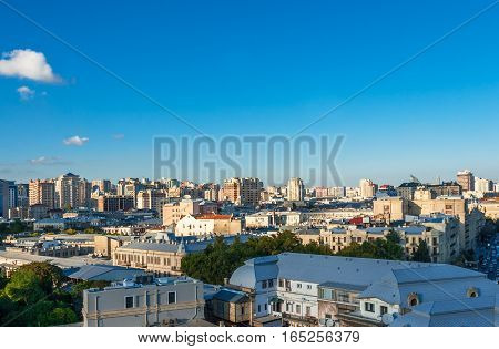 Panoramic View Of Baku.