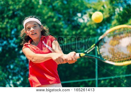 Active Two-handed Backhand