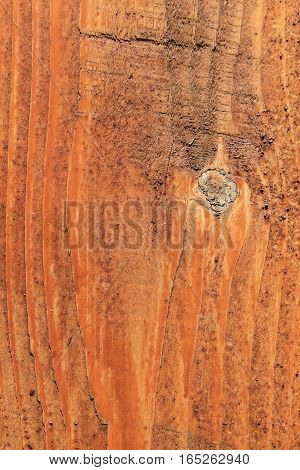 Wooden texture brown background. Plank with texture