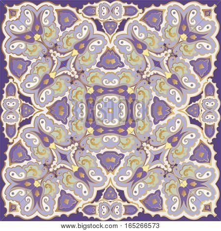 Delicate Colored Handkerchief