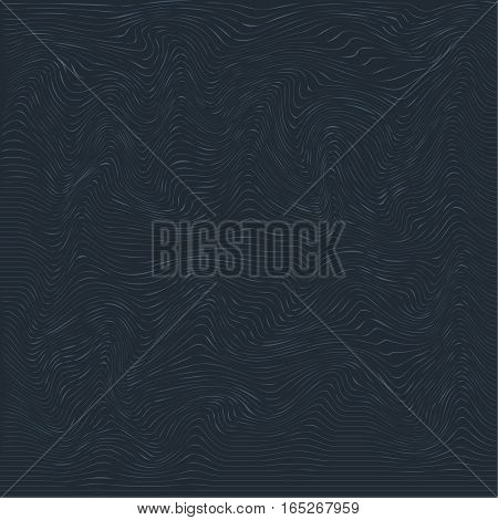 an abstract black background with longitudinal threads