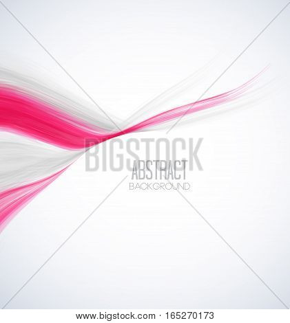 Vector colorful background with wave, modern abstract design