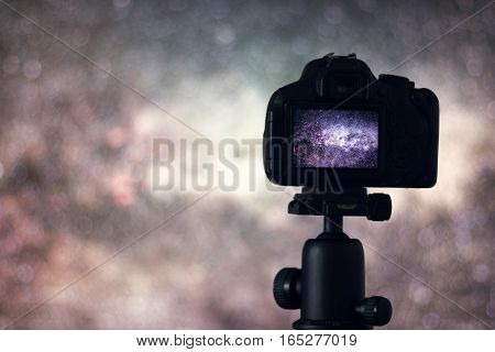 Long exposure photography. Astronomy Astrophotography. Space. Long exposure photography.