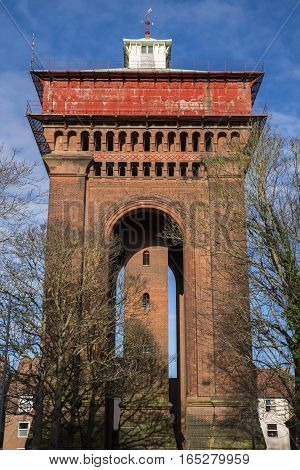 The impressive Jumbo Water Tower in the historic town of Colchester Essex.