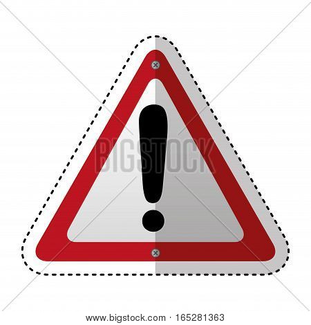 caution traffic signal information icon vector illustration design