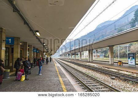 Como San Giovanni Railway Station, Lombardy, Italy