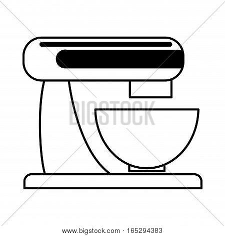 mixer home appliance isolated icon vector illustration design