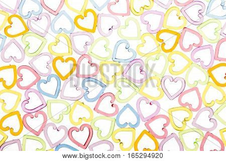 Color Translucent Heart