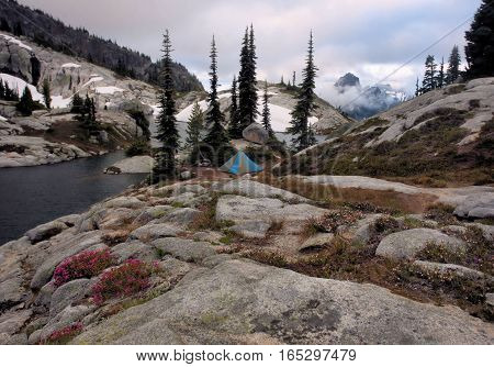 Lower Robin Lake, Alpine Lakes Wilderness, Washington State