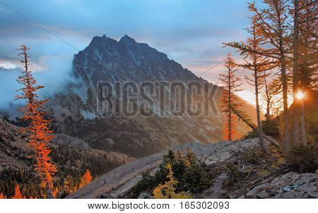 Mount Stuart, Alpine Lakes Wilderness, Washington State