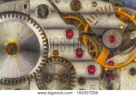 Old Rusty Clockwork.