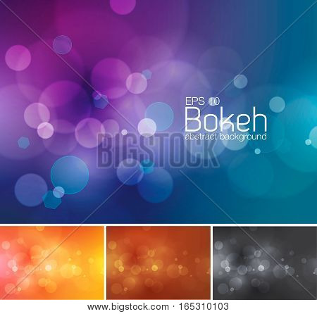 Blur and unfocused vector abstract background. Suitable for your design element or web background