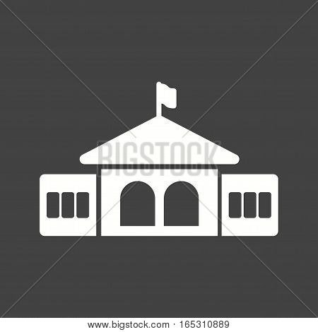 Graduate, students, university icon vector image. Can also be used for town.