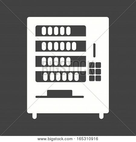 Vending, machine, drink icon vector image.Can also be used for town.