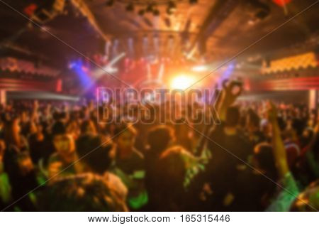 Blur Club Party