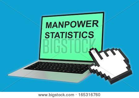 Manpower Statistics Concept