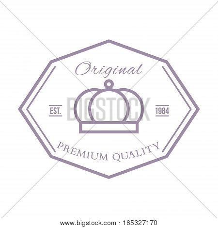 Premium quality labels and badges vector illustration