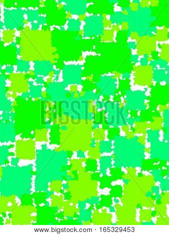 Abstract Background With Random Blocks. Pattern For Modern Concept.