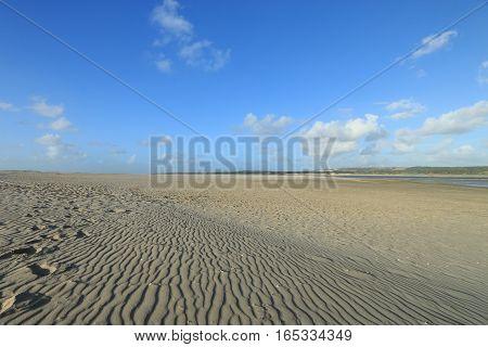 the beach of the Touquet , PAS-DE-Calais, hauts de France , France