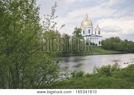 Holy Trinity Cathedral in Morshansk. Cna Riverside