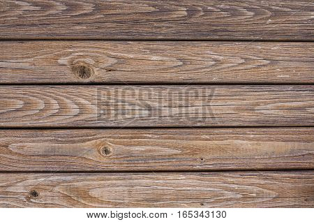 Background Of Old Brown Wooden Board Texture
