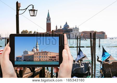 Tourist Photographs San Giorgio Maggiore In Venice