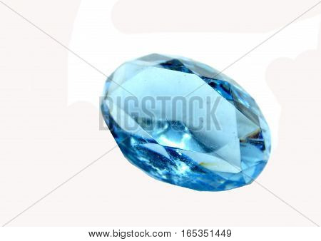 gem stone sapphire aquamarine diamonds jewel blue